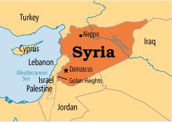 Syrian Arab Republic Map