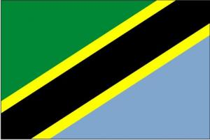 Tanzania, United Republic of Flag