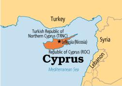 North Cyprus Map