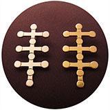 Arhatic Triple Cross